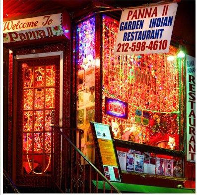 Dinner and chili lights dee davis blog - Panna ii garden indian restaurant ...
